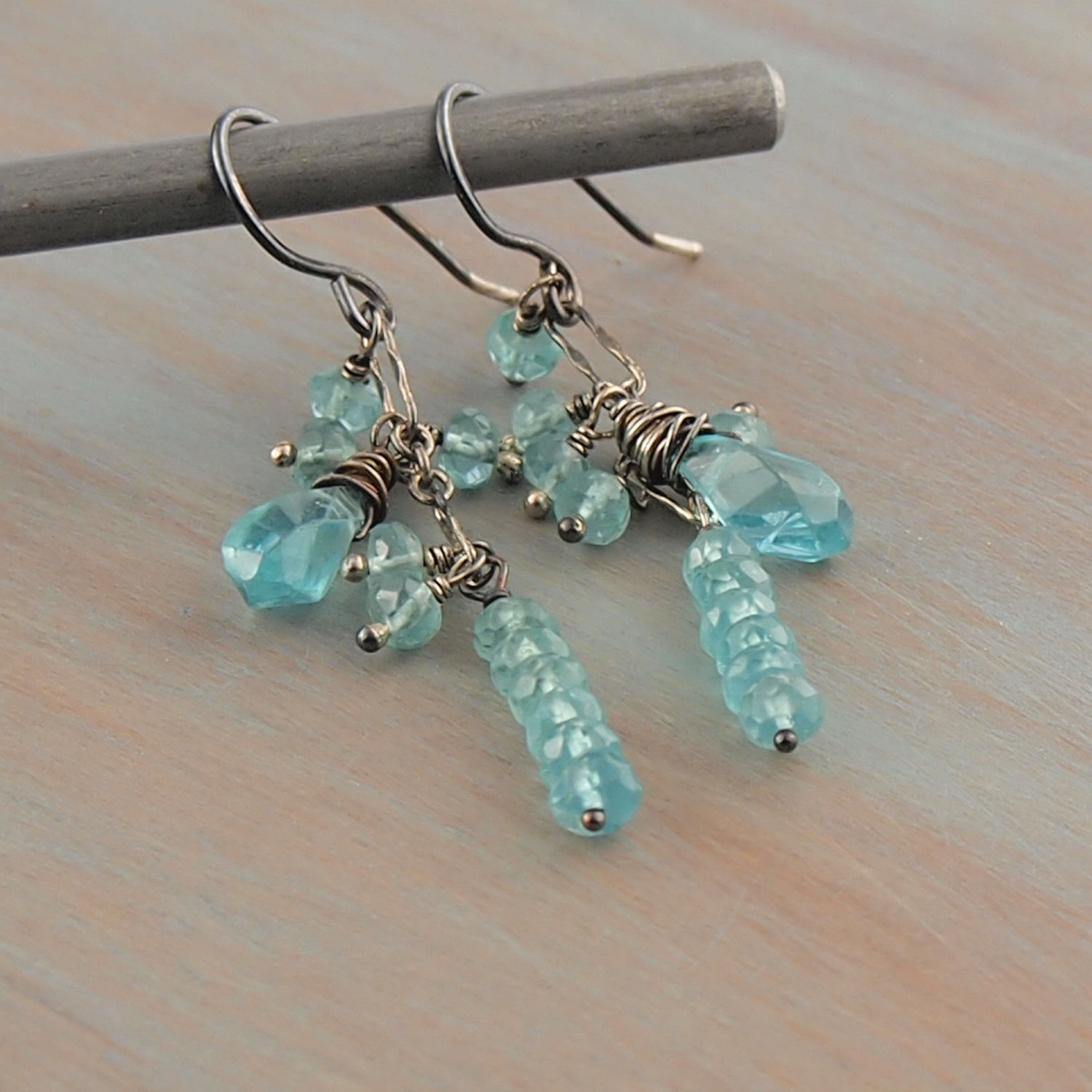 blue earrings il ckru moon fullxfull genuine listing apatite